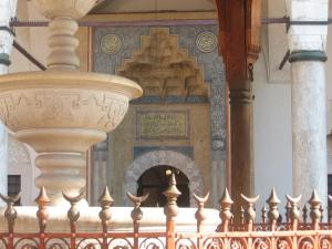 Gazi Husrev bey's mosque fountain