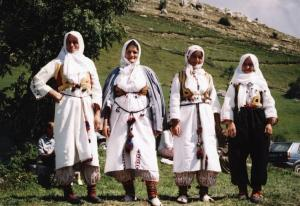 Traditional bosnian clothes