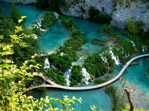 Blue Plitvice Lakes
