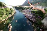 The Old Bridge diving competition in Mostar